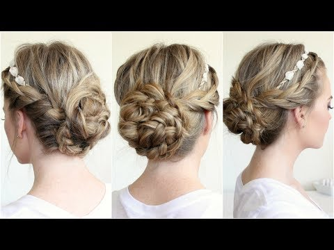 braided-updo-with-a-flower-crown