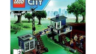 Lego 60069 Swamp Police Station Instructions Lego City 2015
