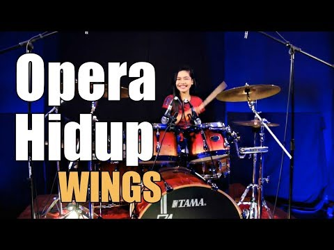 Wings - Opera Hidup Drum Cover by Nur Amira Syahira