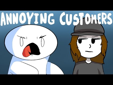 Thumbnail: Annoying Customers (Feat. Theodd1sout & ItsAlexClark)