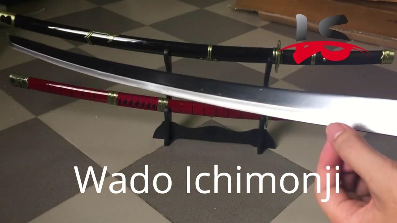 Bán 3 bảo kiếm Zoro. Wado Ichimonji – Sandai Kitetsu – Yubashiri. Không cọc