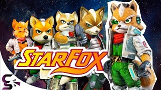 The Evolution of Graphics: Star Fox (1993 - 2016)
