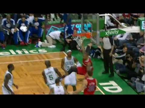 Caron Butler Drives Baseline to Rattle the Rim