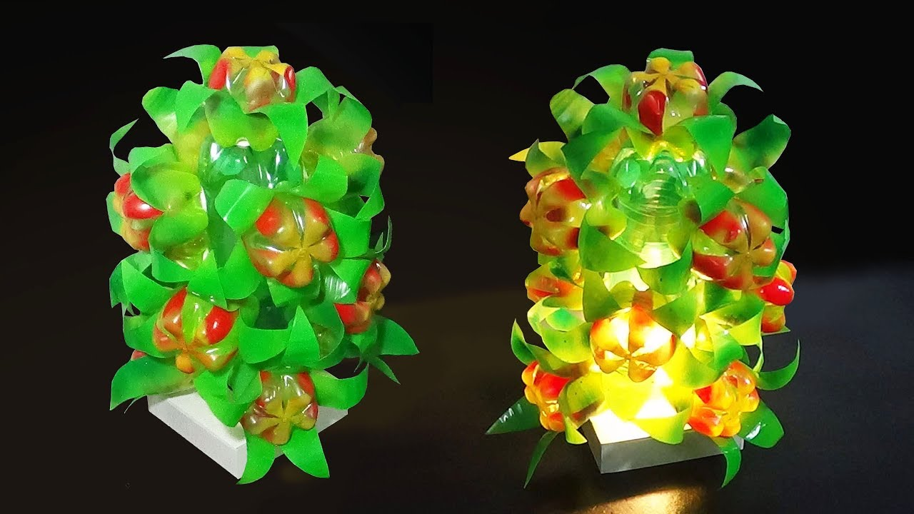 Diy Home Decor Floral Lamp Light Shade With Plastic Bottle Best
