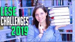 LESE CHALLENGES 2019 | Goodreads, SuB-Leichen, Englische Bücher und mehr | melodyofbooks