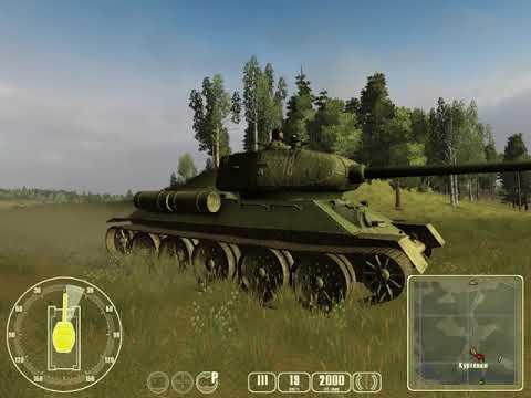 прохождение за Россию №3   Т34 против Тигра   Ловушка на Тигра