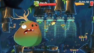 ANGRY BIRDS 2 - KING PIG PANIC DAILY CHALLENGE (Oct/25/2021) screenshot 2