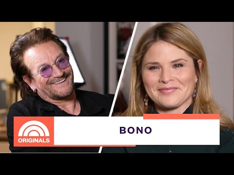 Bono Made Jenna Cry With A Present For Her Daughter | Open Book With Jenna Bush Hager | Today