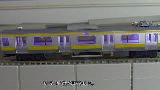 [不具合]カトー製209系総武線から火花と煙!? thumbnail