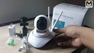 IP Wifi Security Camera 360 Degree Pakistan Urdu|Hindi