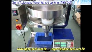Semi Automatic Volumetric Cup Filler APF 500