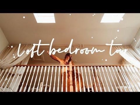 LOFT BEDROOM TOUR * 2018