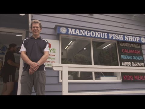 Chef Reckons He's Living The Dream Manning The Fryer At Iconic Far North Fish Shop