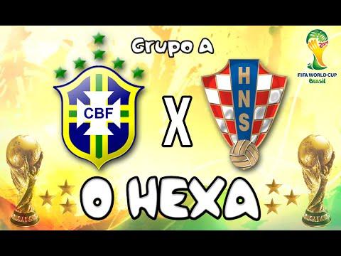 2014 FIFA World Cup Brazil  Brasil: O Hexa!  Brasil x Croácia Grupo A