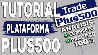 Gambar cover Plus500: Tutorial fácil y completo, ejemplos 100% prácticos