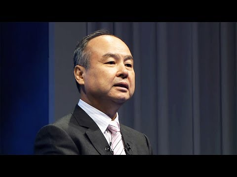 Speech: Masayoshi Son, Representative, SoftBank Group