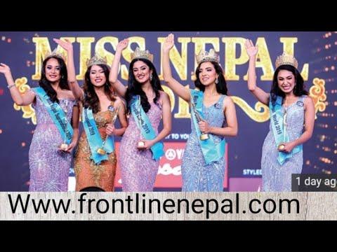 Miss Nepal Final Live 2019 event.   || FRONTLINE NEPAL