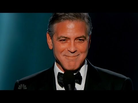 George Clooney Declares LOVE for Amal Alamuddin Golden Globes 2015 Acceptance Speech