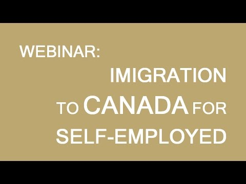 Self-employed Immigration To Canada