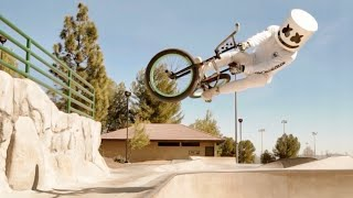 Freestyle BMX Tricks | Adventures with Marshmello