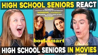 Teens React To High School Seniors In Movies (Booksmart)