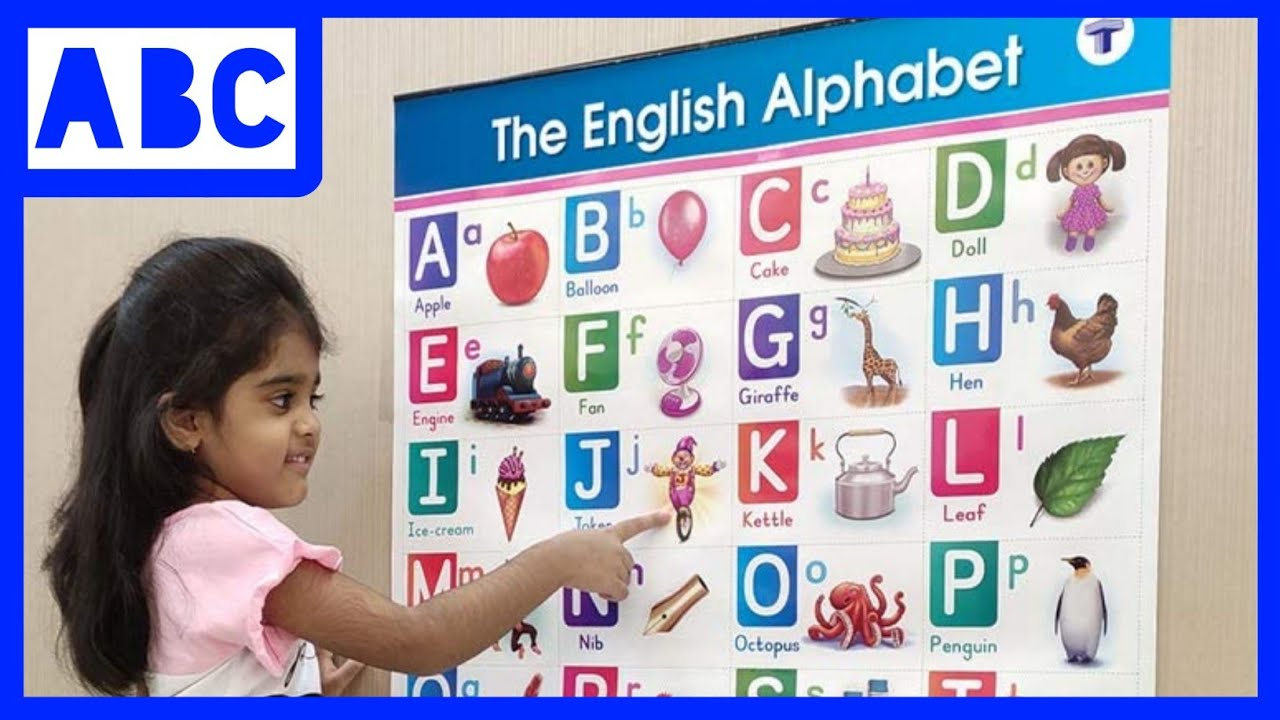 Part 47, A for apple, A for apple B for badka Apple, ABCD phonics song, abcd English alphabet, su su