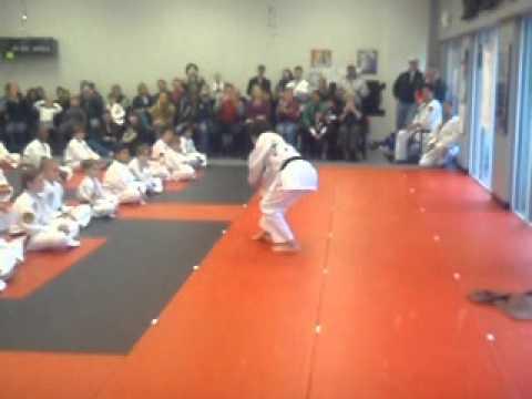 Noah Ringer Live Demo at Karate Atlanta Dec 2010