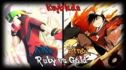 Gold vs Ruby. Batallas Rap (Pokémon) | Kinox ft. AlVa y Keyblade