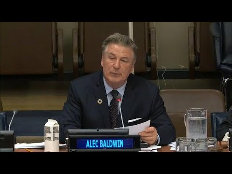 Alec Baldwin At The United Nations Permanent Forum On Indigenous Issues