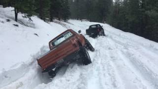Snow Wheeling and Some Fun