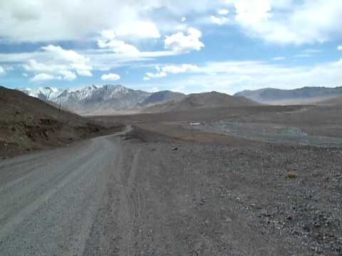 Kyzyl-art mountainpass at the border of Tajikistan and Kyrgyzstan