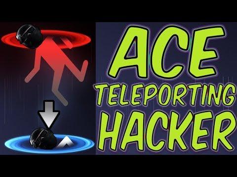 ACE on TELEPORTING HACKER - Rainbow Six Siege