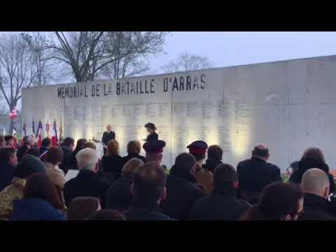 """""""Amazing Grace,"""" Dawn Ceremony, Carrière Wellington Tunnels, Arras, Emma Brown."""
