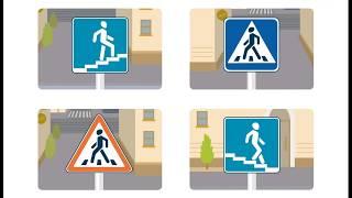 ПРАВИЛА ДОРОЖНОГО ДВИЖЕНИЯ для детей! Светофор и пешеходный переход