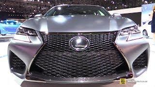 2018 Lexus GSF 10th Anniversary - Exterior Walkaround - 2018 New York Auto Show