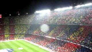 Himne del Barcelona vs Real Madrid 2010