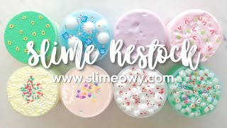 SLIME RESTOCK: NEW HOLIDAY SLIMES! JELLY, SEMIFLOAM, & MORE