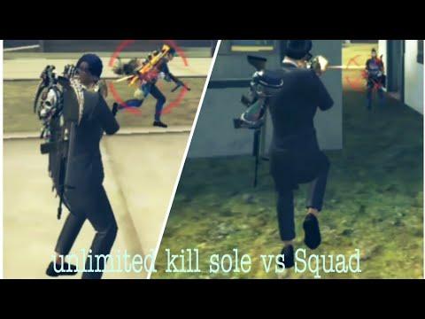 Free Fire unlimited kill moment l ᵇᵈᴍ¹¹࿐ຖคฯēē๓ l kill 10 slow vs squad