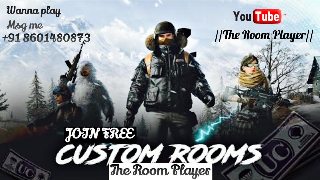 🔴 PUBG MOBILE LIVE FREE CUSTOM ROOM MATCH 🔥 for support Patym 7007724535 💥