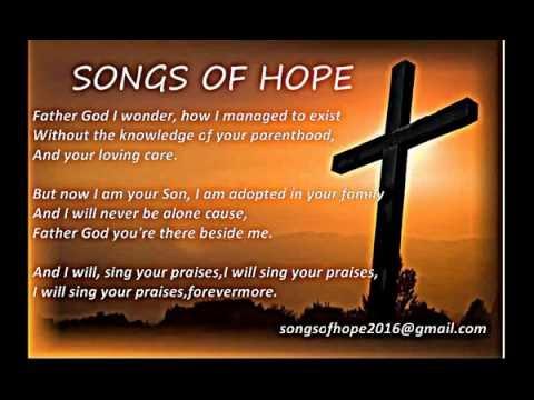 FATHER GOD I WONDER HOW I MANAGED TO EXIST (with lyrics)