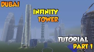 Minecraft Infinity/Cayan Tower Tutorial Part 1 - XBOX/PS3/PC