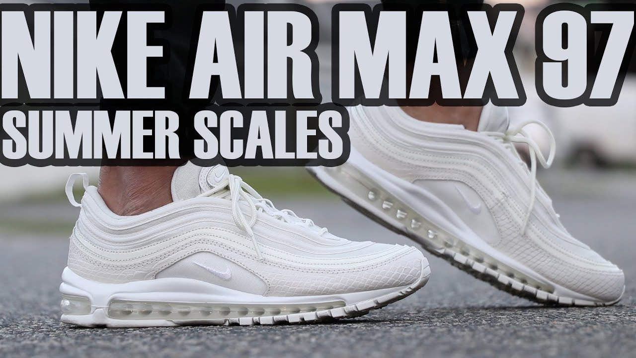 02be9a737c Nike Air Max 97 Summer Scale On Feet + Review - YouTube