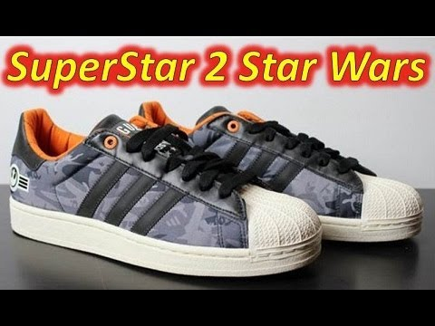 Adidas superstar 2 star wars revisione + in piedi su youtube