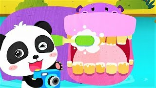 Baby Panda Helping Animal - Play And Learn About Animals - Educational Kids Game