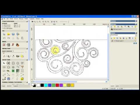In which formate file import corel draw to artcam