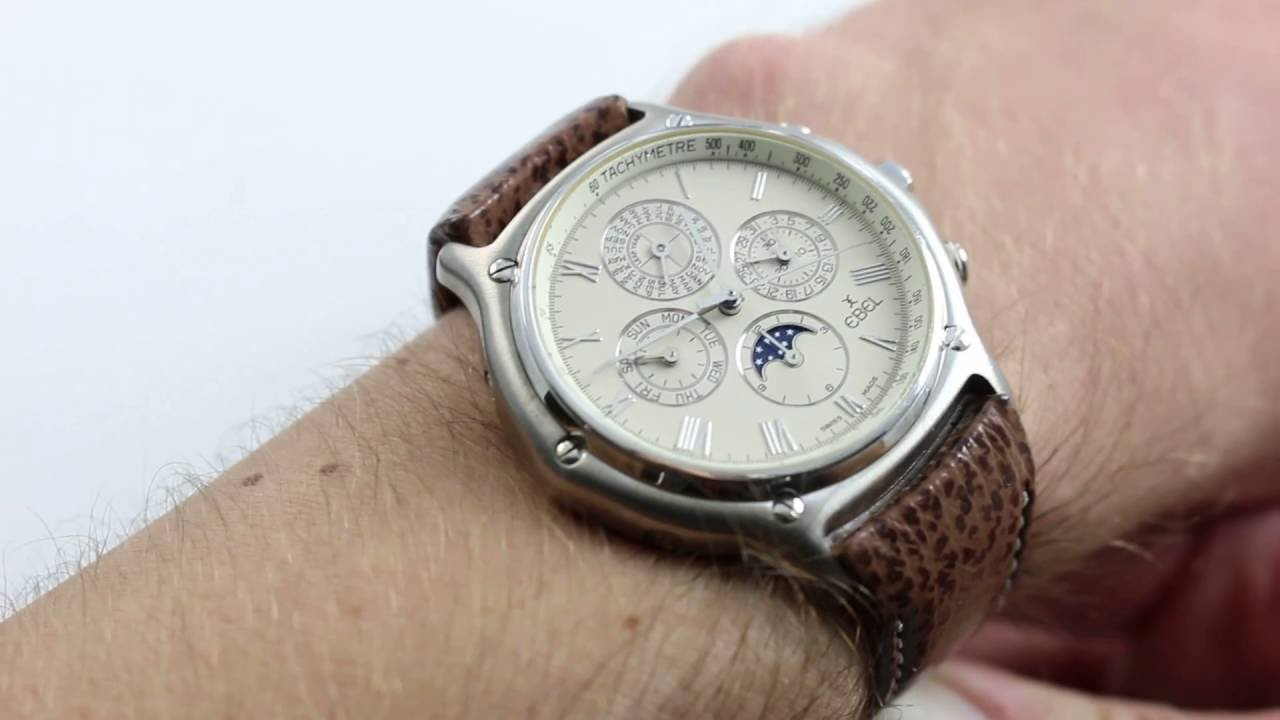 Ebel 1911 Perpetual Chrono Luxury Watch Review