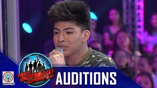 "Pinoy Boyband Superstar Judges' Auditions: Keanno Dela Cruz – ""Night Changes"""