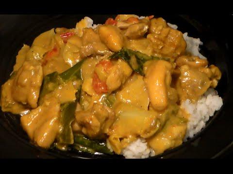 Delicious Hearty Peanut Curry Chicken: Easy Peanut Curry Chicken Recipe
