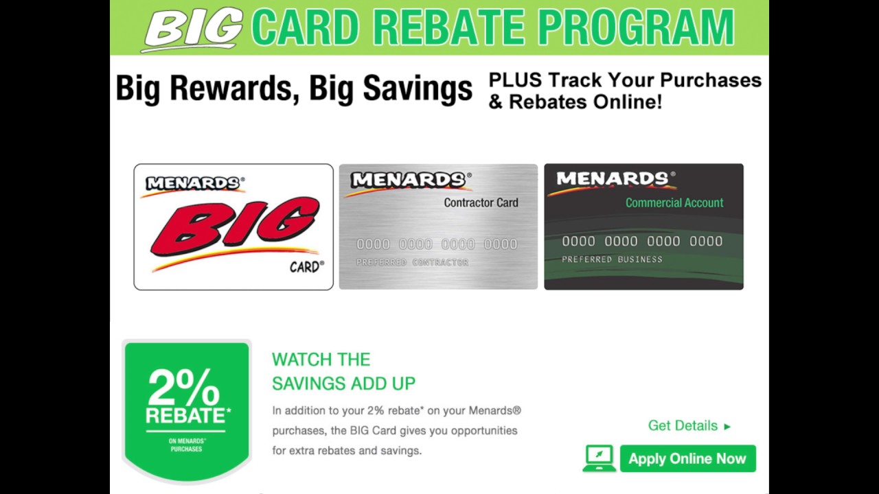 Menards Commercial Card Login | Applydocoument co