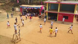 majhakot vs biruwa 2 vollyball match in pelkachour gairiswara syangja